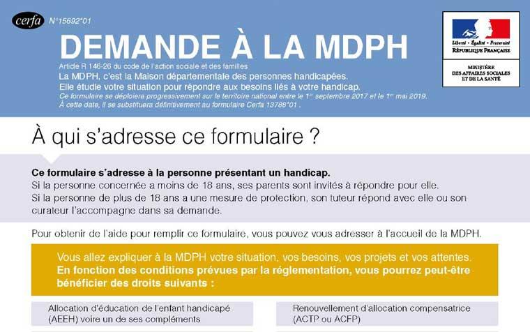 aide la constitution du dossier mdph affa association francophone de femmes autistes. Black Bedroom Furniture Sets. Home Design Ideas