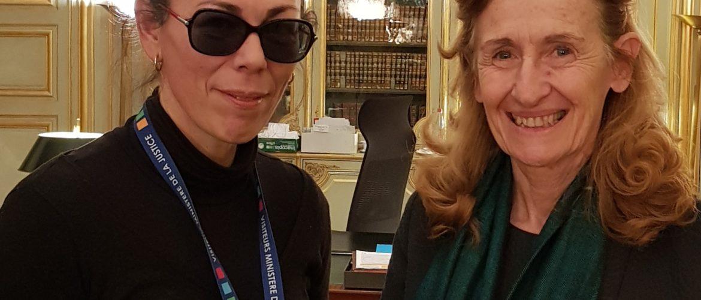 autisme et justice, ministère de la justice, Mme Belloubet