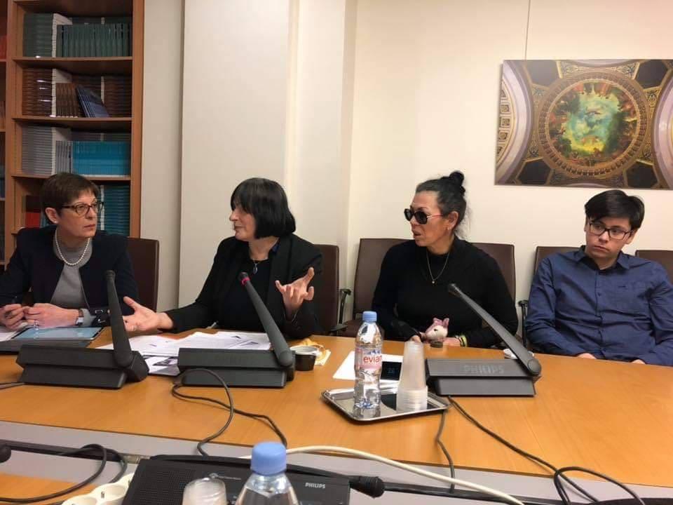 14 février 2019 - Compte rendu de l'audition au Sénat de Marie Rabatel et Muriel Salmona devant la délégation aux droits des femmes présidée par sa présidente Annick Billon